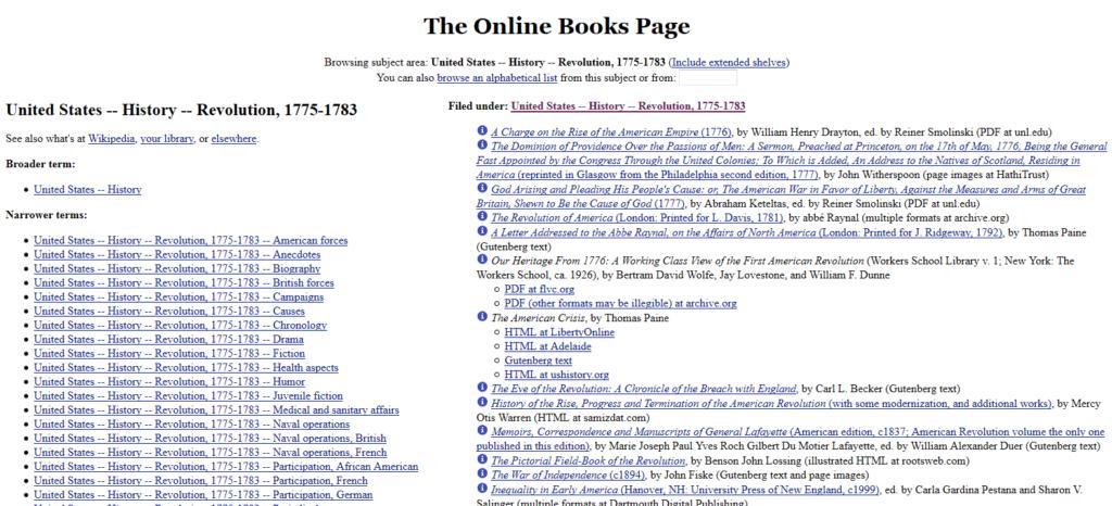 onlinebooks