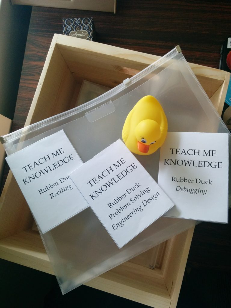 rubber duck and zines